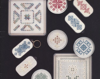 """Clearance - """"Hardanger Small Projects"""" Counted Cross Stitch Chart by Fond Memories, Inc."""