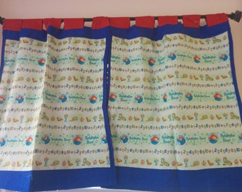 Paddington Bear Curtain/Window Covering/Valance