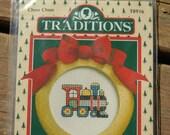 Choo Choo Train Cross-Stitch Kit, Traditions T8916, Holiday Craft Kit