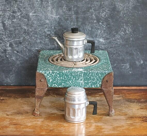 Vintage Eterna Aluminum Neapolitan Coffee Espresso Maker No.
