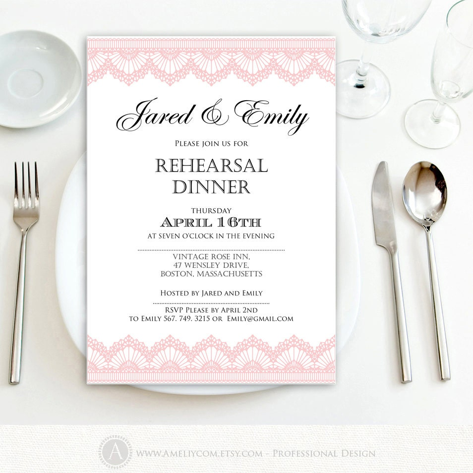 This is a photo of Massif Printable Rehearsal Dinner Invitations