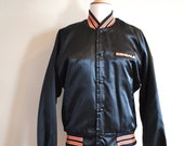 Vintage Bengals Chalk Line Bomber Jacket Like New
