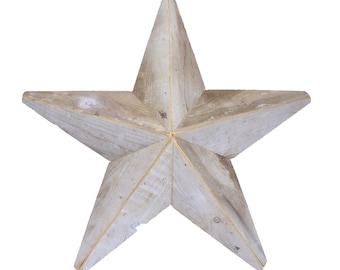 Salvaged Barn Wood Star -- Rustic Barn Star