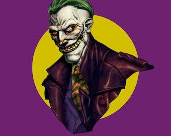 Joker Bust Pinup