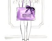 Shopping at Bergdorfs