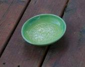 Small Light Green Bowl, Candy Dish, Soap Dish, Trinket Dish, Prep Bowl - Stoneware Pottery, Hand thrown