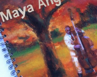 Poetry for Young People Maya Angelou Recycled Journal Notebook