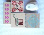 2 Destash Lots of Stamps and a Paper Punch Christmas Valentines Easter Music