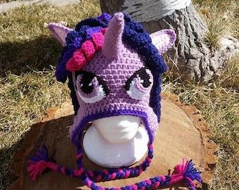 Twilight Sparkle MLP Beanie Hat