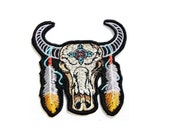 Bos gaurus Gaur Indian bison cows bull Wild Animal Cartoon baby Clothing Polo Jacket Shirt Embroidered Badge Sign Costume Iron on Patch