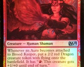 Foil Brood Keeper, Limited Edition Magic The Gathering Artist Proof, By Scott Murphy