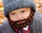Mustache Beard Hat EASY Crochet Pattern PDF -  Toddler, Child, Teen, & Adult Sizes. Sale - Buy 2 patterns, Get 1 FREE.