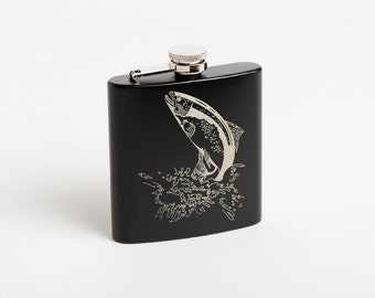 Custom Design, Personalized Corporate Gift, Engraved Hip, Whiskey, Pocket Flasks