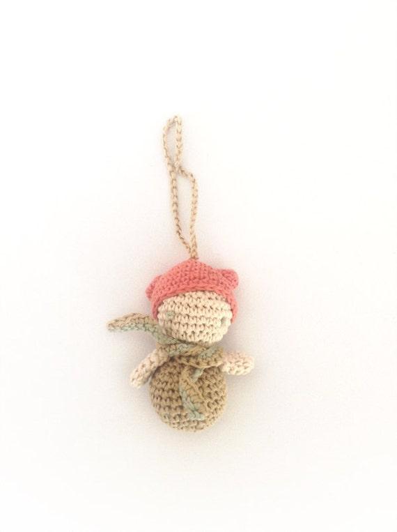 Tiny Amigurumi Doll : Tiny amigurumi doll handmade crochet by verogobet on etsy