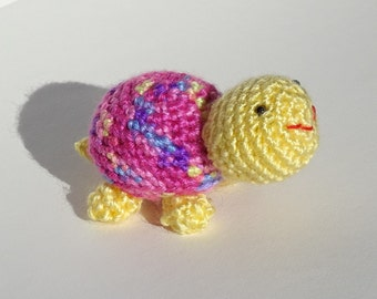 Crochet Turtle Toy, Amigurumi Toy, Stuffed Animal, Small Kids Toy, Crocheted Turtle, Stuffed Turtle, Amigurumi, All Handmade, Ready to Ship