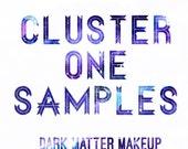 Sample Set Of Cluster One Eyeshadows