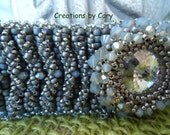30% off ALL tutorials! Use coupon code WELCOME in the coupon area at checkout. Anna's Garden woven beaded bracelet tutorial
