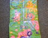 Vintage G1 My Little Pony 1980s Sleeping Bag