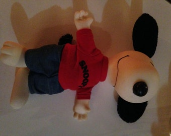 Vintage Snoopy Doll with clothes