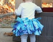 NEW ITEM! Made-to-order Frozen fabric tutu in the size of your choice!