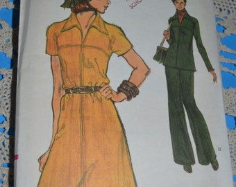 Vogue 8982 Misses Dress or Tunic and Pants Sewing Pattern - UNCUT - Sizes 16