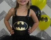Batman halloween birthday photo tutu costume