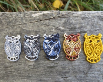 Owl FSL Earrings