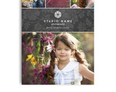 Photography Marketing Card - 5x7 Promo Card - LUXE - 1119