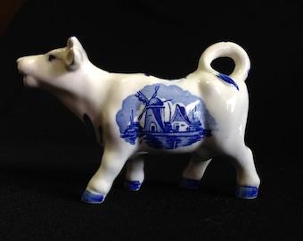 Vintage Cow Cream Pitcher made in Japan (LDT4)