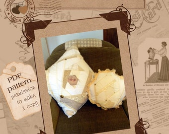 Mother's Parlor Pillow PDF Pattern