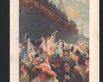 Vintage Magazine Cover, Life , September 27, 1917  (739)