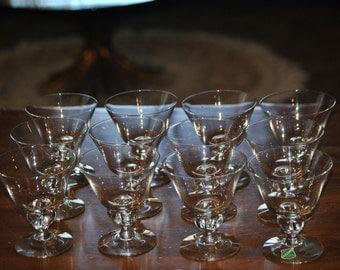 12-Piece BERGDALA GLASBRUK (Sweden) Collection of Glassware -