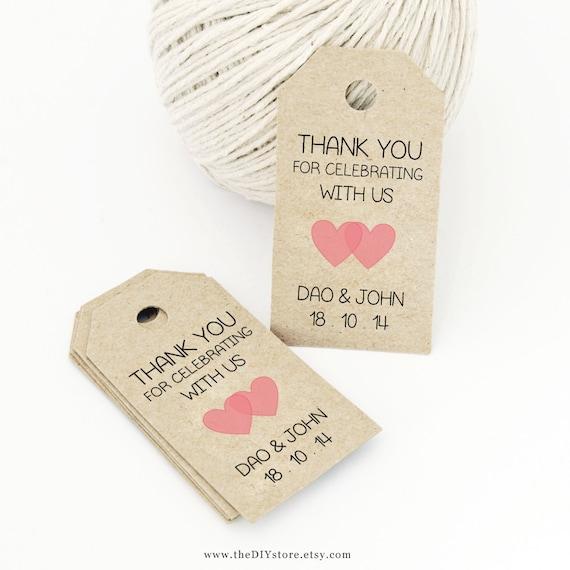 Print Your Own Wedding Gift Tags : ... Tag, Gift Tag - Wedding Labels - Hang Tags, DIY Digital Printable