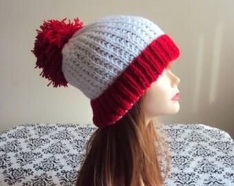 Pom Pom Hat Beanie Hand Knit Winter Hat Women Men  Winter Fashion Accessories Gift Ideas