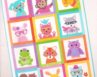 Sew Cute Critters Book/ Pattern by Cindy Taylor Oates for Taylor Made Designs
