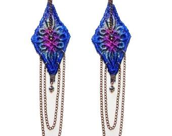 SISTER MOON- Lace Earrings