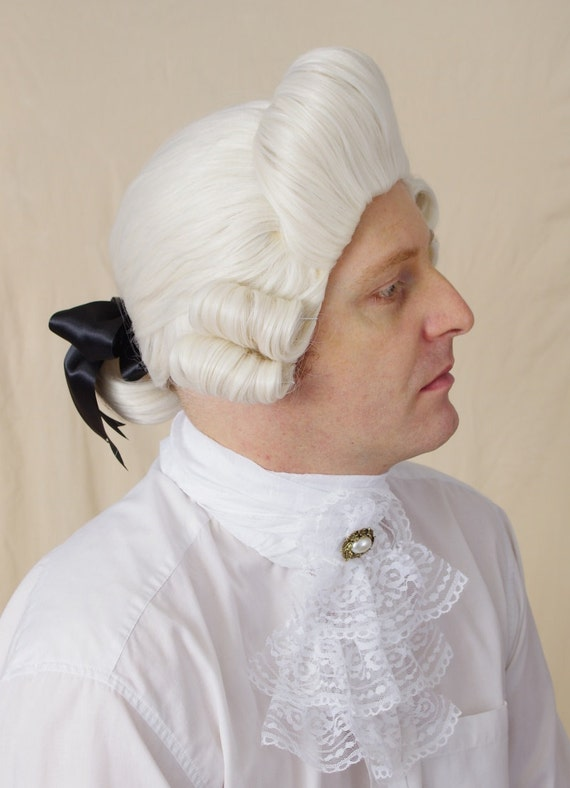 Frederick Men Rococo Wig Officer Wig Suitable For Civil