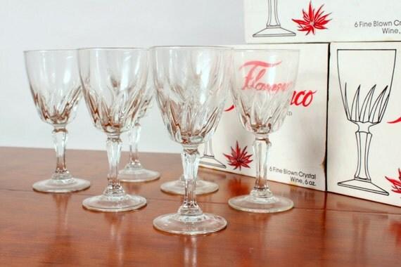 verre a vin flamenco