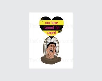 Nicolas Cage The Wicker Man Printable Valentine Card