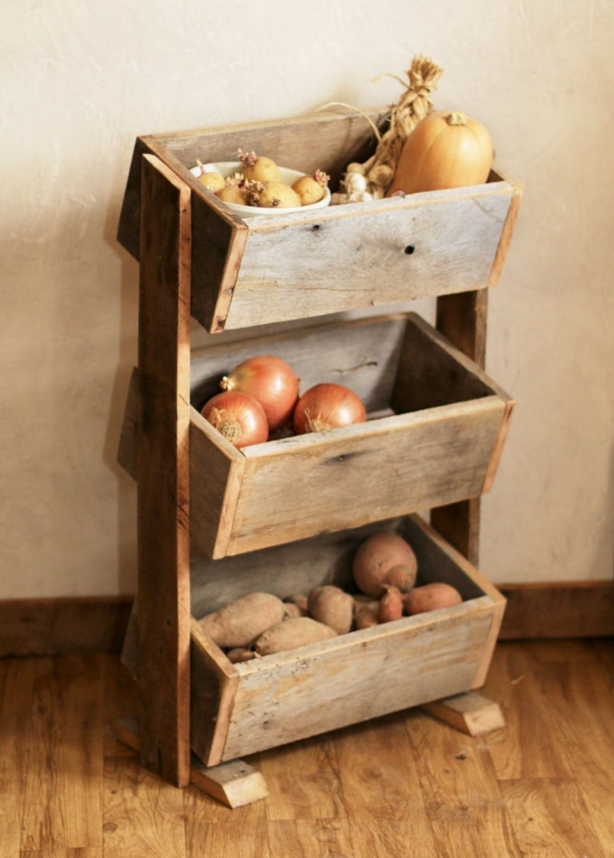 Potato bin Vegetable bin Scandinavian Barn by GrindstoneDesign