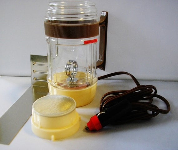 1970s Portable Auto Coffee Maker Car Lighter Socket Charger