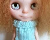 Blythe -  Turquoise sleeveless Sweater
