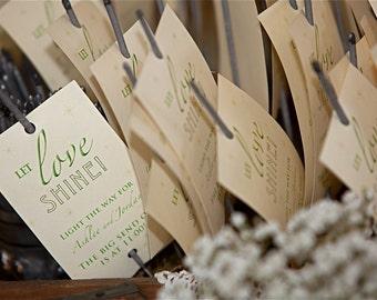 Wedding Sparkler Send Off Cards