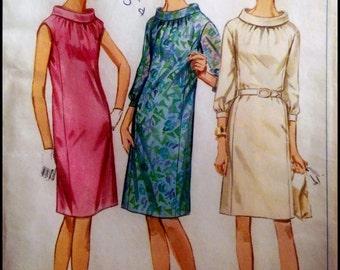 """Simplicity 7099  Misses' One-Piece Dress  Bust 40""""  UNCUT"""