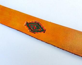 Southwestern Leather Bookmark