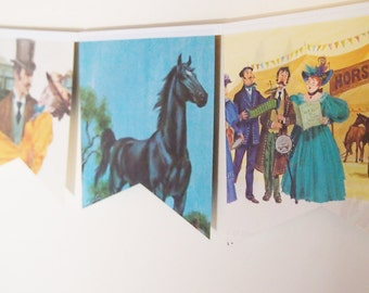 Little Golden Book Bunting - Black Beauty