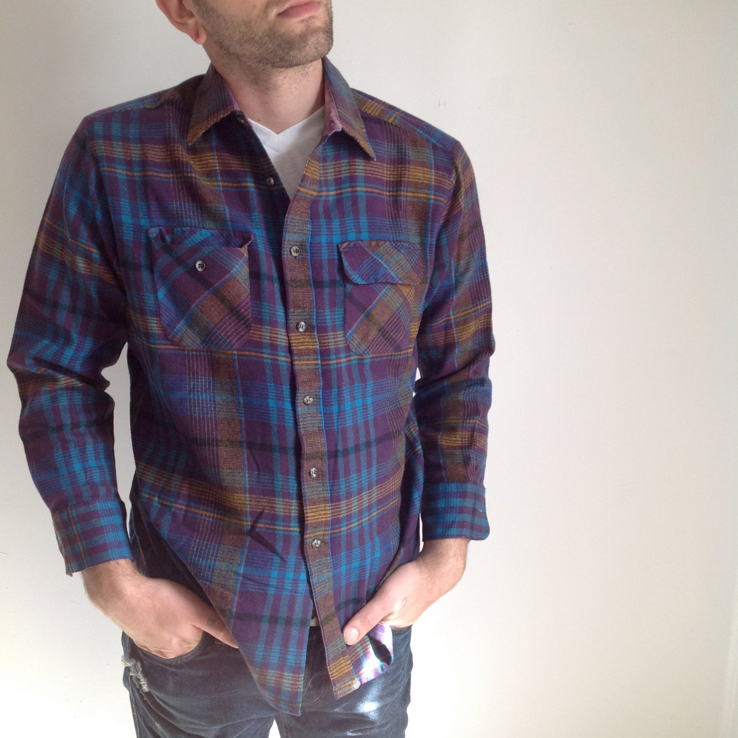 Find mens purple flannel shirt at ShopStyle. Shop the latest collection of mens purple flannel shirt from the most popular stores - all in one place.