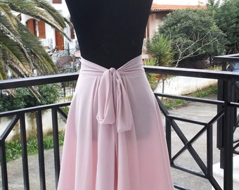 Short Mini Chiffon Skirt