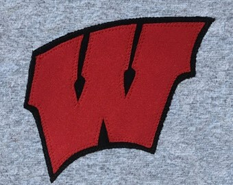 Beanie slouchy hat - University of Wisconsin-Madison Badgers