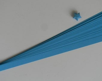 Blue : Lucky Star Paper Strips (100)